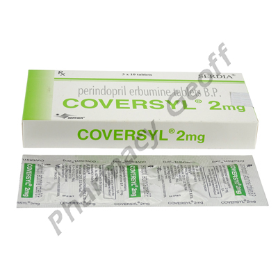 GENERIC COVERSYL (PERINDOPRIL) - 2MG (10 TABLETS) 1