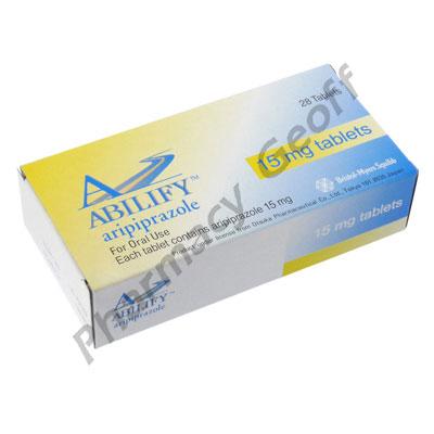 Abilify (Aripiprazole) - 15mg (28 Tablets)