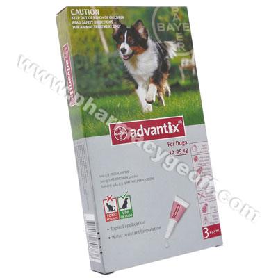 Advantix (Imidacloprid/Permethrin) - 100g/L/500g/L (2.5mL)