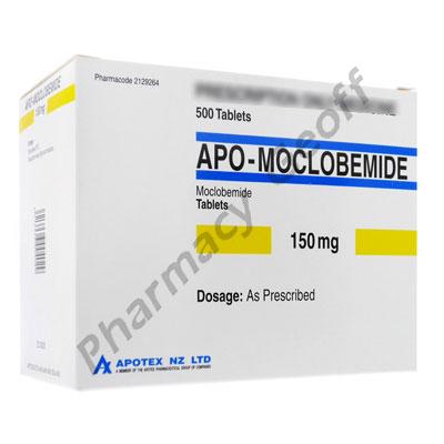 Apo-Moclobemide (Moclobemide) - 150mg (500 Tablets)