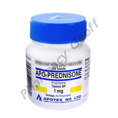 APO-PREDNISONE - 1MG (500 TABLETS)