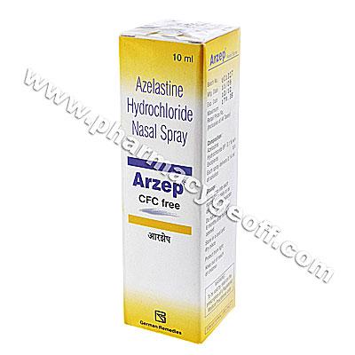 Arzep Nasal Spray (Azelastine) - 0.10% w/v (10mL