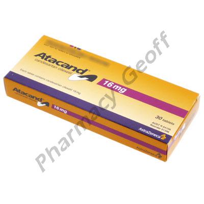 Atacand (Candesartan Cilexetil) - 16mg (30 Tablets ...