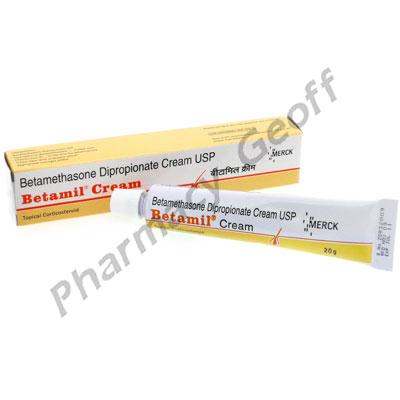 Betamil Cream (Betamethasone Dipropionate USP) - 0.05% w/w (20g)