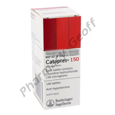 Catapres tablets