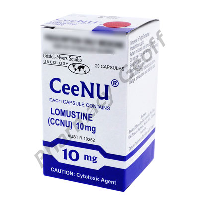 CeeNU (lomustine) - 10mg (20 Capsules)