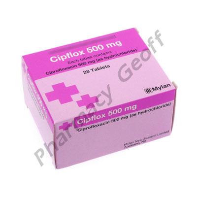 Cipflox (Ciprofloxacin) - 500mg (28 Tablets)