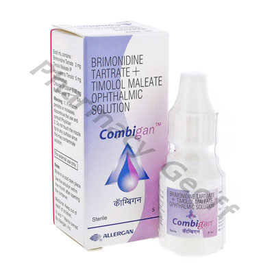 Combigan (Bimonidine Tartrate/Timolol) - 2mg/5mg (5ml)