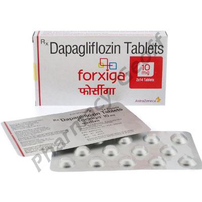 Forxiga (Dapagliflozin) - 10mg (28 Tablets) :: Diabetes