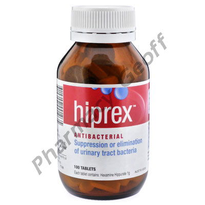 Hiprex (Hexamine Hippurate) - 1g (100 Tablets