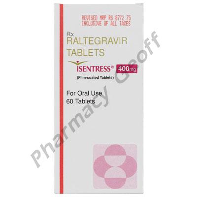 Isentress (Raltegravir) - 400mg (60 Tablets)