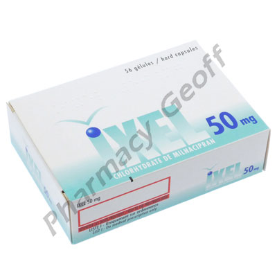 Ixel (Milnacipran) - 50mg (56 Tablets) :: Antidepressants