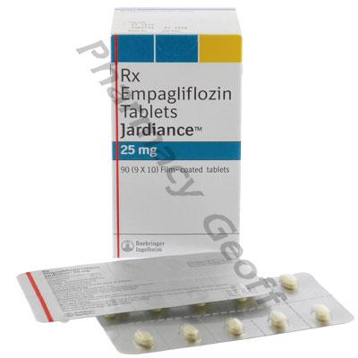 Jardiance (Empagliflozin) - 25mg (10 Tablets) :: Diabetes