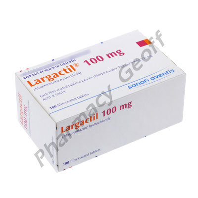 Chlorpromazine Hydrochloride 100 Mg