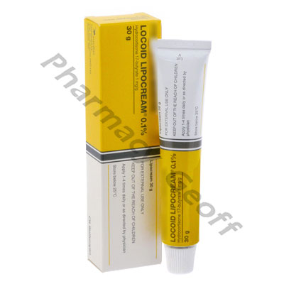 Locoid Lipocream (Hydrocortisone Butyrate) - 0.1% (30g
