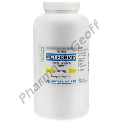 Metformin Hcl 500 Mg Tablet