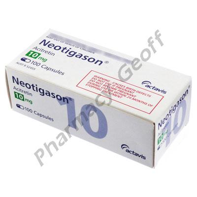 Neotigason (Acitretin) - 10mg (100 Capsules)