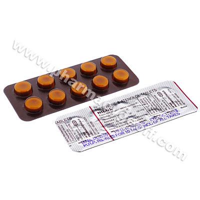 Nilol (Nifedipine/Atenolol) 20mg/50mg (10 Tablets