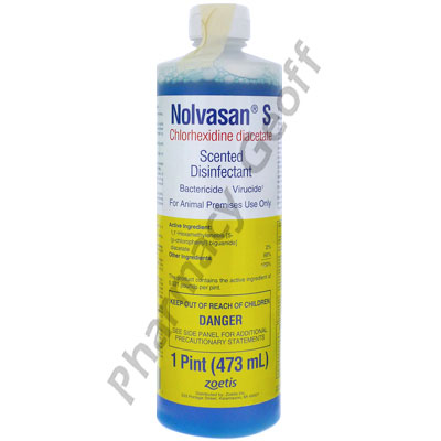 Nolvasan S Scented Disinfectant 16oz 473ml Pet