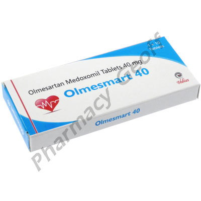 Olmesmart 40 (Olmesartan Medoxomil) - 40mg (10 Tablets