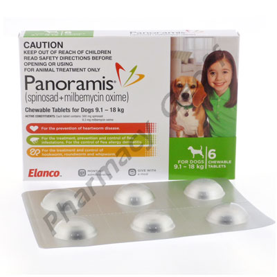 Panoramis Spinosad Milbemycin Oxime 560mg 9 3mg 6
