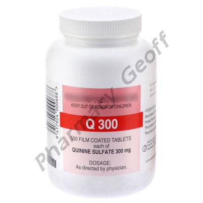 Quinine sulfate pills