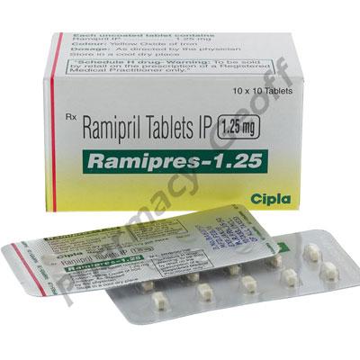 Ramipres (Ramipril) - 1.25mg (10 Tablets) :: General