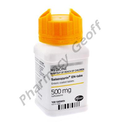 Sulfasalazine 500 Mg Dr Tablets