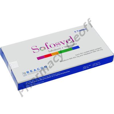 Sofosvel (Sofosbuvir/Velpatasvir) - 400mg/100mg (6 Tablets)