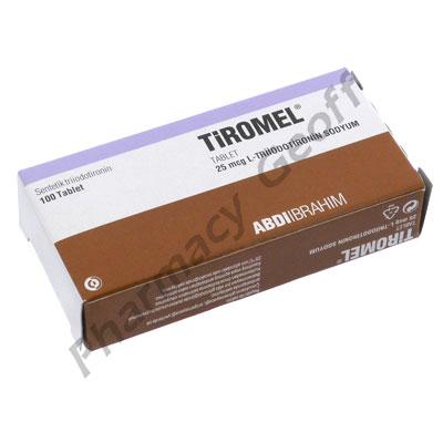 Tiromel (Iothyronine Sodium) - 25mcg (100 Tablets)