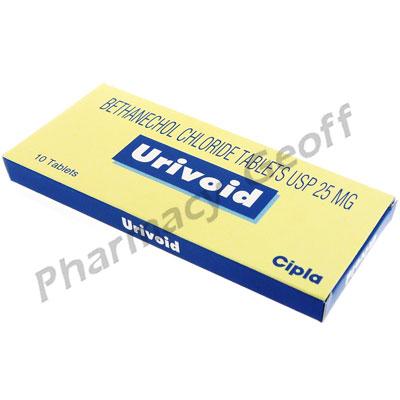Urivoid(Bethanechol Chloride)_Tab_25mg_PG_