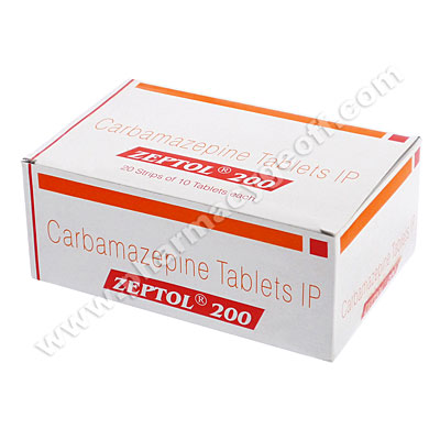 Generic Tegretol (Zeptol) 200mg 10s