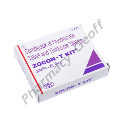 Zocon T Kit (Fluconazole/Tinidazole) - 150mg/1000mg (1 Tablet)