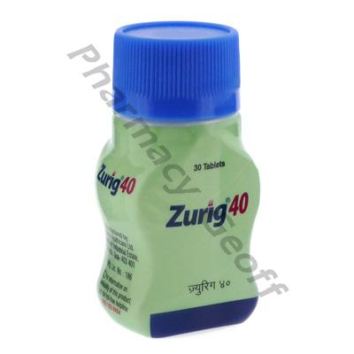 Zurig 40 (Febuxostat) - 40mg (30 Tablets) :: Arthritis