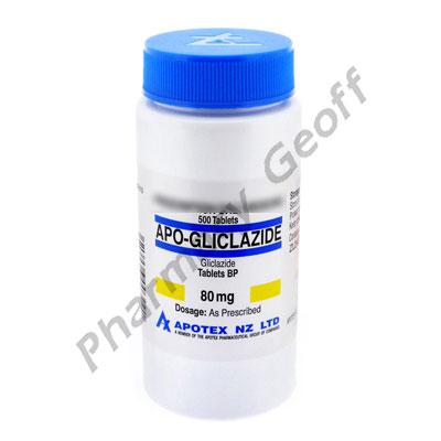 Apo-Gliclazide (Gliclazide) - 80mg (500 Tablets