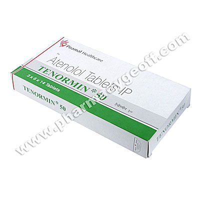 Tenormin (Atenolol) - 50mg (14 Tablets)