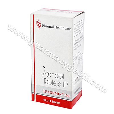 Tenormin (Atenolol) - 100mg (14 Tablets)