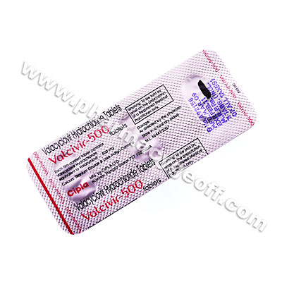 Valcivir (Valacyclovir) - 500mg (3 Tablets)