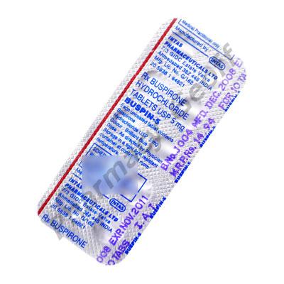 Buspin-5 (Buspirone Hydrochloride) - 5mg (10 Tablets