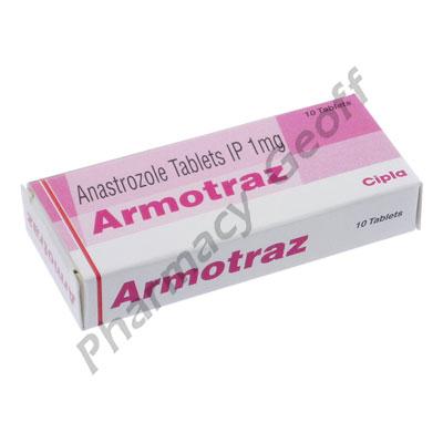 Armotrez (Anastrozole) - 1mg (10 Tablets)