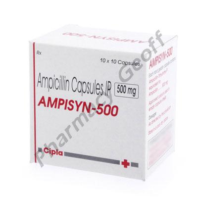 Ampicillin 500mg Capsule Dosage