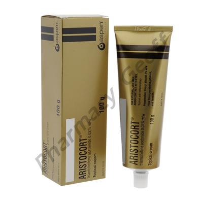 Aristocort Cream (Triamcinolone Acetonide) - 0.02% (100g Tube)