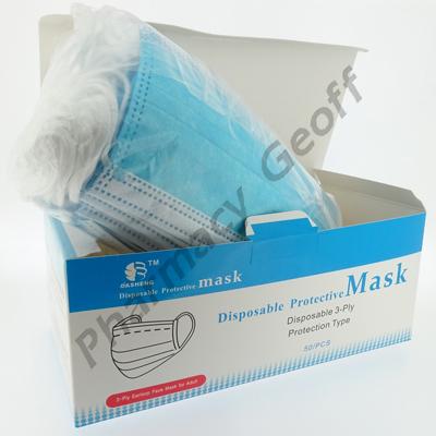 Disposable Protective Mask (50pcs)