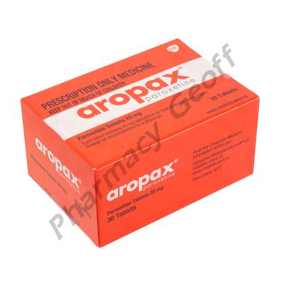 Aropax (Paroxetine) - 20mg (30 Tablets)