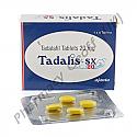 Tadalis SX (Tadalafil) - 20mg (4 Tablets)