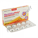 Ranitidine Relief (Ranitidine Hydrochloride) - 300mg (10 Tablets)